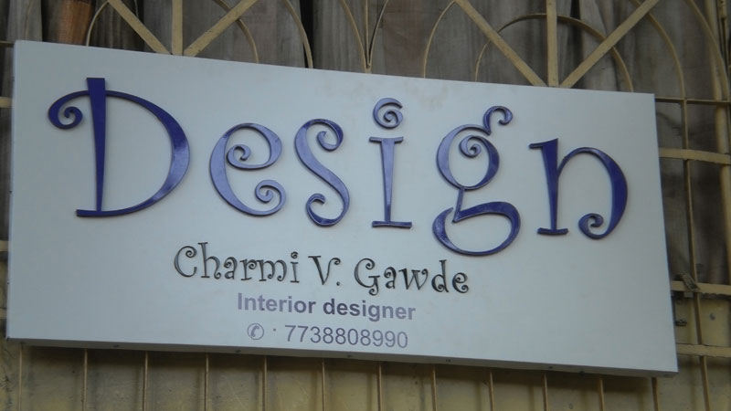 Acrylic Box Letters : Exhibition display advertising boards in thane